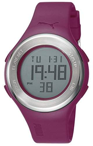 Puma Time Unisex-Armbanduhr Loop Steel Digital Quarz Kautschuk PU910981004