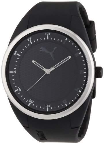 Puma Herren-Armbanduhr XL Analog Quarz Plastik APU911001006