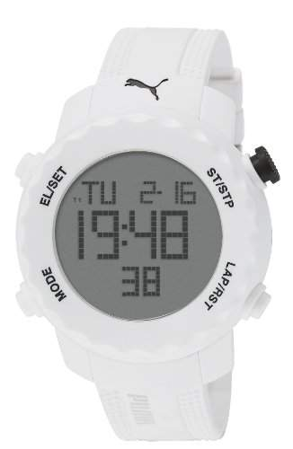 Puma Unisex-Armbanduhr Sharp Digital Quarz Plastik PU911031004