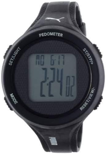 Puma Damen-Armbanduhr XL Step Digital Quarz Plastik PU911042001