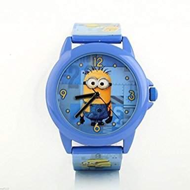 Armbanduhr analog Minionsblau