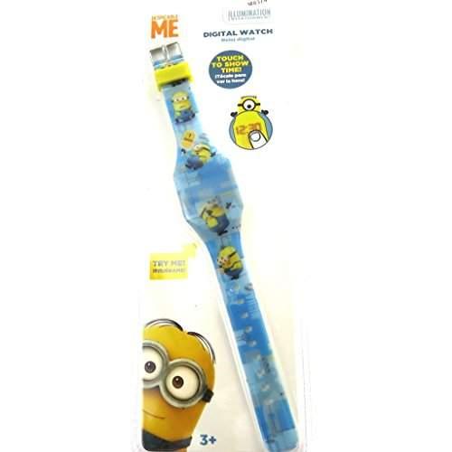 Armbanduhr digitale led Minionsblau gelb