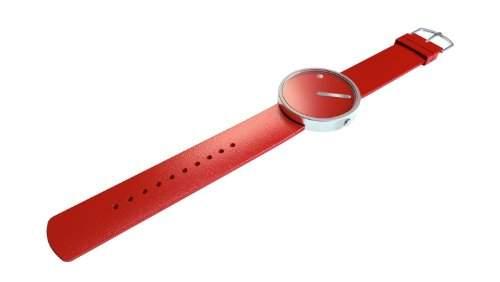 Rosendahl Unisex-Armbanduhr Picto Analog Quarz Silikon 43368