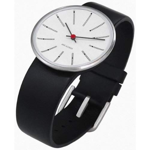 Rosendahl Unisex-Armbanduhr Analog Edelstahl weiss 43430