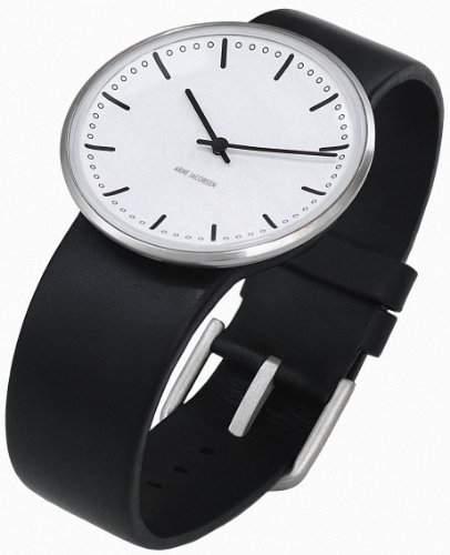 Rosendahl Unisex-Armbanduhr Analog Edelstahl weiss 43431