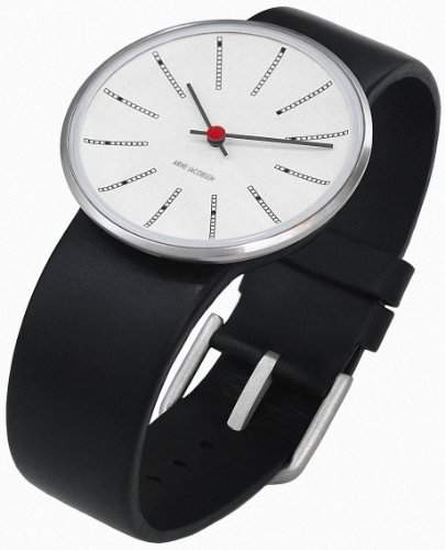 Rosendahl Unisex-Armbanduhr Analog Edelstahl weiss 43450