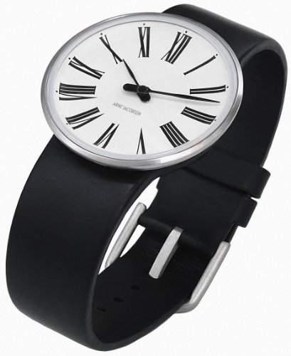 Rosendahl Unisex-Armbanduhr Analog Edelstahl weiss 43452
