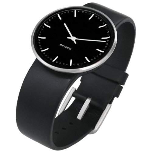 Rosendahl Unisex-Armbanduhr Analog Edelstahl schwarz 43457