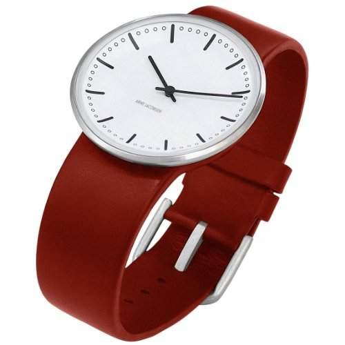 Rosendahl Unisex-Armbanduhr Analog Edelstahl weiss 43471