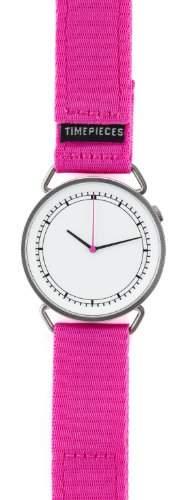 Rosendahl MUW Unisex-Armbanduhr KL101 Analog Quarz Nylon Pink, 43570