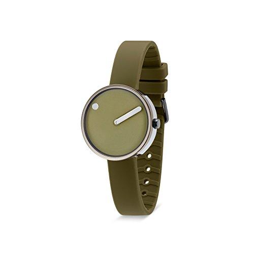 Rosendahl Unisex Armbanduhr Picto Analog Quarz Silikon 103972V000001