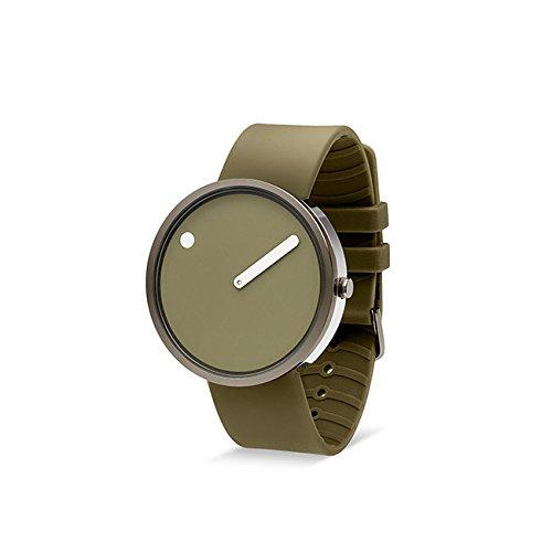 Rosendahl Unisex Armbanduhr Picto Analog Quarz Silikon 103972V000002