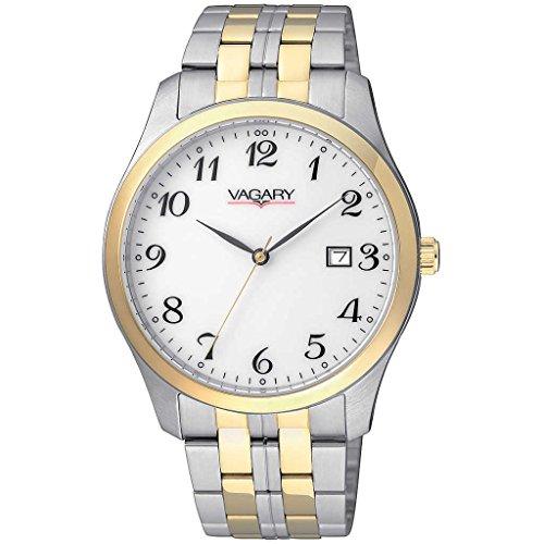 Vagary by Citizen Classic Herren Uhr 90 TH in Stahl und PVD gold nur Zeit Cod ih5 031 13