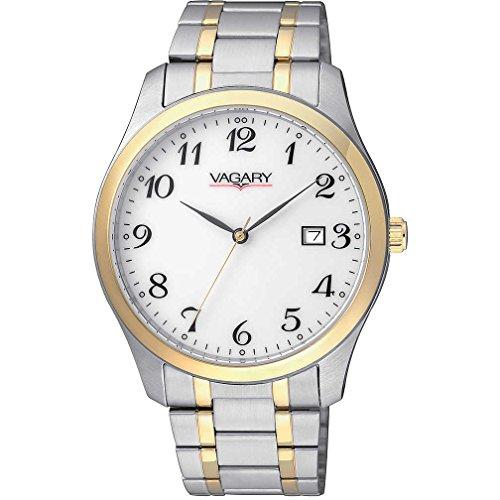 Vagary by Citizen Classic Herren Uhr 90 TH in Stahl und PVD gold nur Zeit Cod ih5 031 11