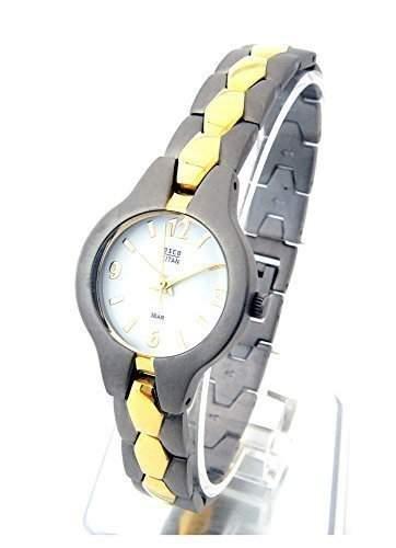 OSCO TITAN Damen Schmuckband Armbanduhr Bicolor 06135001