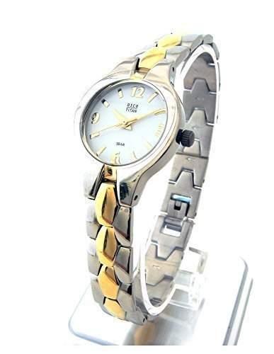 OSCO TITAN Armbanduhr Damenuhr Schmuckband 06135003