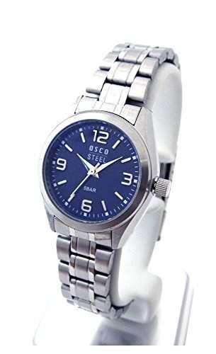 OSCO Workline Damen Armbanduhr Edelstahl blau 06187013