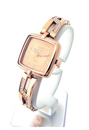 OSCO Damen Schmuckband Uhr Night Life Rosegold 06132003