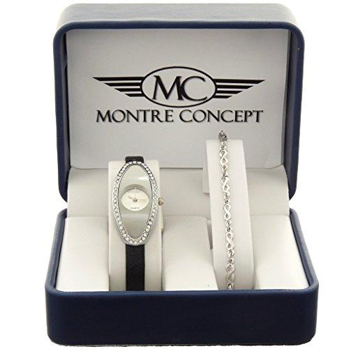 Montre Concept MCCB6 2786 ARGENT Geschenkschatulle mit und Armband