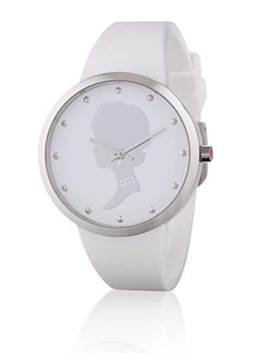 Lulu Guinness Damen-Armbanduhr Analog Quarz Silikon 0950279