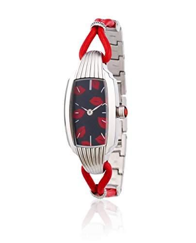Guinness Lulu - 0950439 Damen-Armbanduhr Alyce Quarz analog Armband Silber Silber