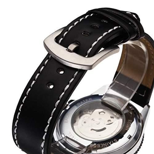 Bheema Men Military Luxury Automatic Mechanical Three Date Watch