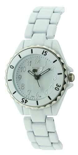 Golddigga Damen-Armbanduhr Analog Weiss DIG05B