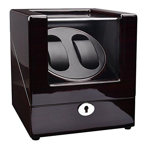 ZEIGER Automatik Uhrenbeweger 3 Modi 4 TPD Elegant Palisander 2 Uhr Automatik Uhren Beweger glaenzend S005