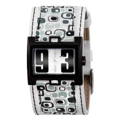 Bruno Banani Damen-Armbanduhr Analog Quarz Leder BR20921