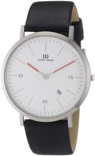Danish Design Herren-Armbanduhr XL Analog Quarz Leder 3314380
