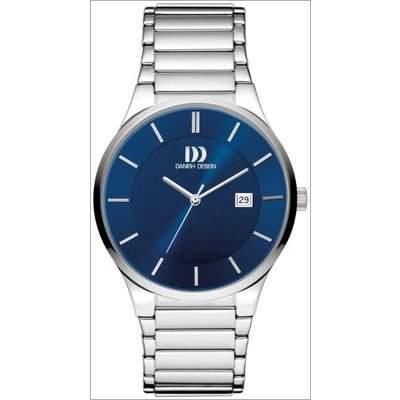 Danish Design Herren-Armbanduhr Analog Quarz Edelstahl 3314490