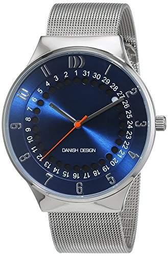 Danish Design Herren-Armbanduhr Analog Quarz Edelstahl 3314497
