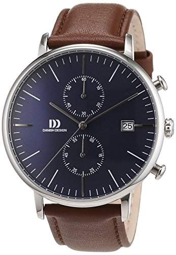 Danish Design Herren-Armbanduhr Analog Quarz Leder 3314506