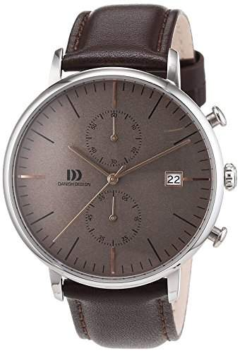 Danish Design Herren-Armbanduhr Analog Quarz Leder 3314507