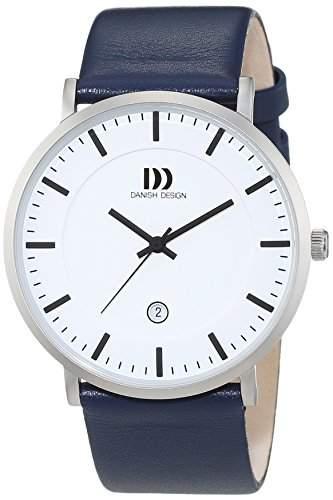 Danish Design Herren-Armbanduhr Analog Quarz Leder 3314514