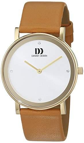 Danish Design Damen-Armbanduhr Analog Quarz Leder 3320209