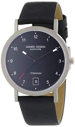Danish Design Herren-Armbanduhr XL Analog Quarz Leder 3316333