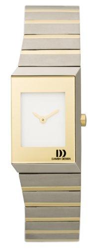 Danish Design Damenarmbanduhr Titan bicolor 3326502