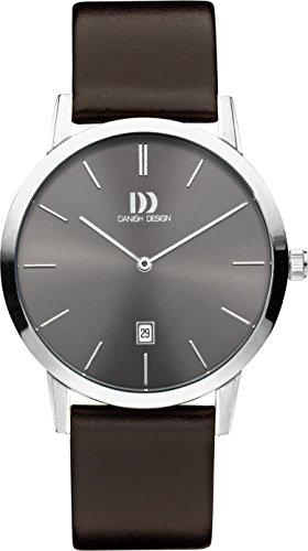 Danish Design Unisex Armbanduhr DANISH DESIGN IQ18Q1118 Analog Quarz Leder IQ18Q1118