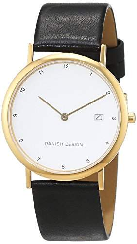 Danish Design Damen-Armbanduhr IQ10Q272 Analog Quarz Leder IQ10Q272
