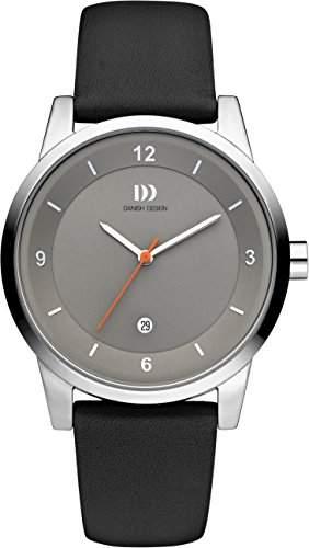 Danish Design Unisex-Armbanduhr IQ14Q1084 Analog Quarz Leder IQ14Q1084