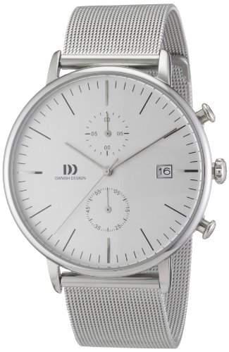 Danish Design Herren-Armbanduhr Analog Quarz Edelstahl IQ62Q975