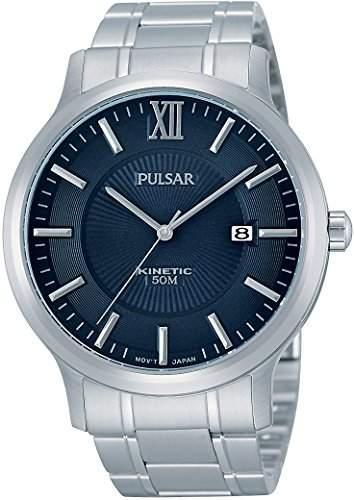 Pulsar Herren-Armbanduhr Analog Quarz Edelstahl PAR183X1