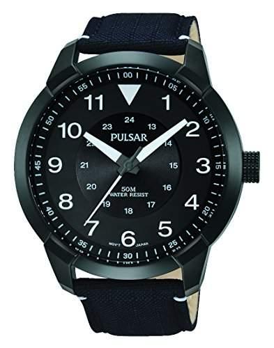 Pulsar Herren-Armbanduhr Analog Quarz Leder PG2027X1