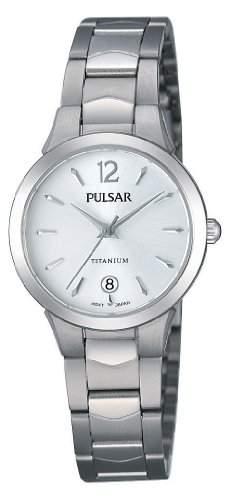 Pulsar Uhren Damen-Armbanduhr XS Modern Analog Quarz Titan PH7247X1