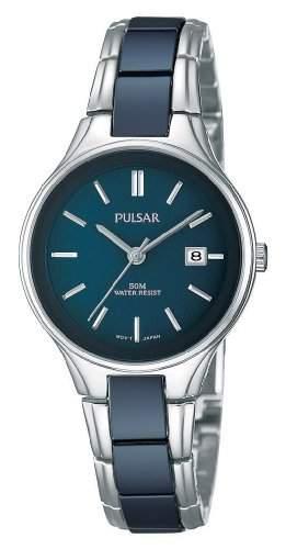 Pulsar Uhren Damen-Armbanduhr XS Modern Analog Quarz Keramik PH7269X1