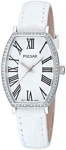 Pulsar Damen-Armbanduhr Analog Quarz Leder PH8041X1