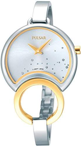Pulsar Damen-Armbanduhr Analog Quarz Edelstahl PM2046X1