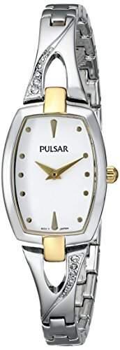 Pulsar Damen prw002X Everyday Wert Analog Display Japanisches Quartz Silber Uhr