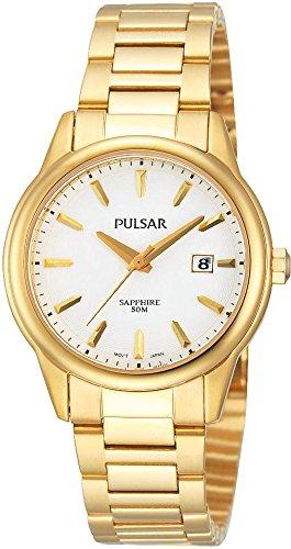 Pulsar Damen Armbanduhr Analog Quarz Edelstahl PH7316X1